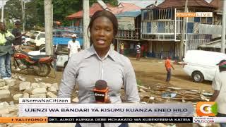 Vibanda vya wachuuzi vyabomolewa Kisumu