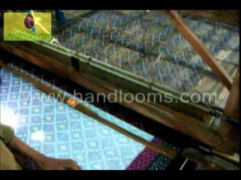 Pochampally Handloom Weaving Andhra Pradesh India