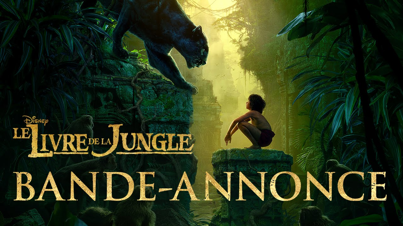 Le Livre De La Jungle Bande Annonce 1 Vost Disney Be Youtube