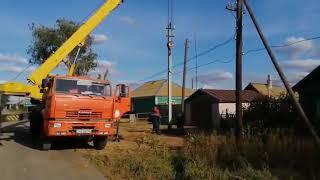 ⚡  Енергетики «Россеті Південь» здійснюють капітальний ремонт ПЛ-0,4-10 кВ