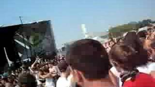 Warped tour 2008 from first to last mosh pit