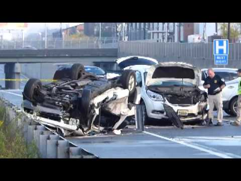 Serious Wreck On Rt  129 In Trenron 129 In Trenton 20-29-2015