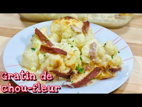 un-gratin-de-chou-fleur-trÈs-goÛteux🥬-facile-et-rapide.-deli-cuisine