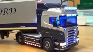 Servonaut V8 sound. RC Scania R500 V8 1/14 Tamiya Trucks. RC Trucks @ Leyland scotty555babe