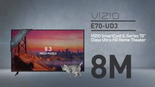 "All-New 2016 VIZIO E70u-D3 SmartCast E-Series 70"" Class Ultra HD // Full Specs Review  #VIZIO"