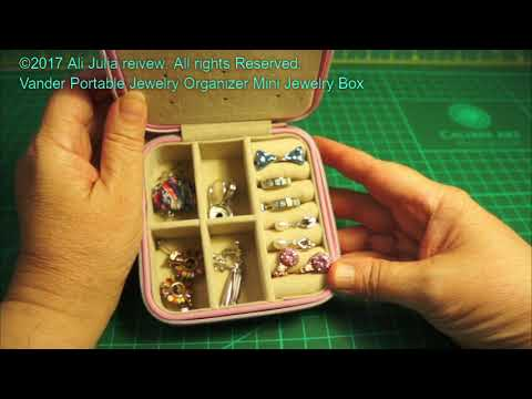 Vander Portable Jewelry Organizer Mini Jewelry Box