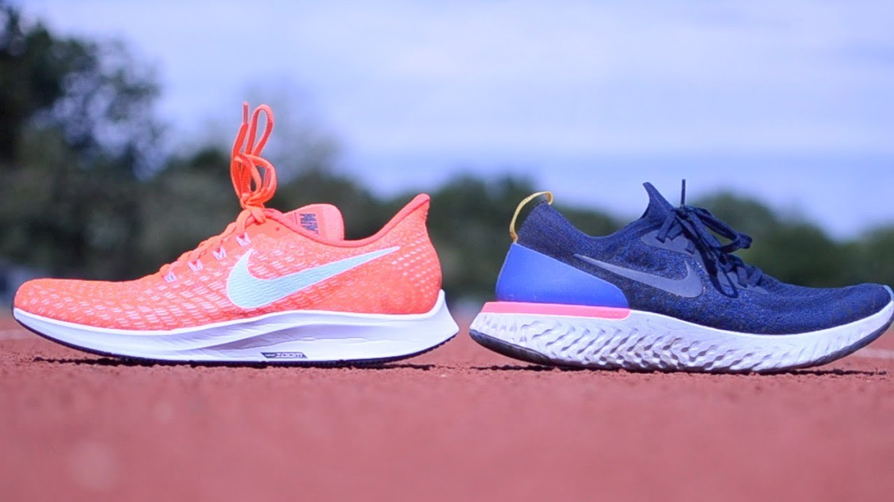 buy online aa045 78738 NIKE PEGASUS 35 VS EPIC REACT FLYKNIT