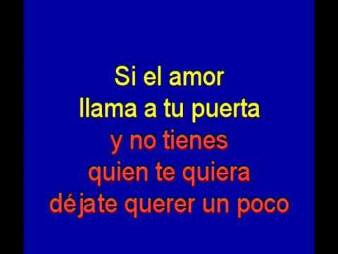 Si el amor llama a tu puerta  -  Julio Iglesias -  karaoke   Tony Ginzo