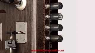 Стальная дверь Гранит М5(Стальная дверь Гранит М5, обзор модели. Адрес официального производителя: http://dveri-granit.com., 2013-05-05T13:48:12.000Z)