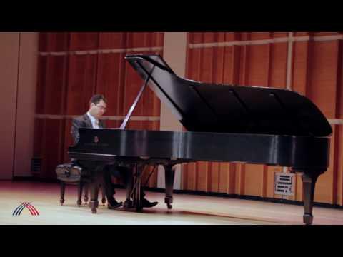 Aza Sydykov plays Jyldyz Maldybaeva Prelude in C minor
