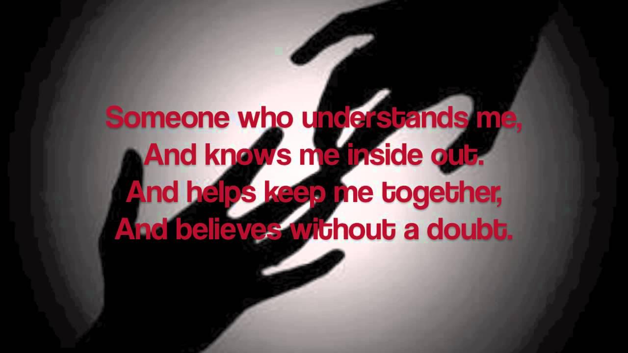 one friend with lyrics by dan seals youtube
