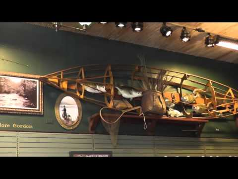 Bass pro shop outdoor world part 6 fly fishing youtube for Bass pro shop fly fishing