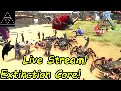 ARK: Extinction Core! Community Stream! - YouTube