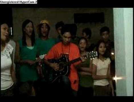 Caroling on Christmast in the Philippines