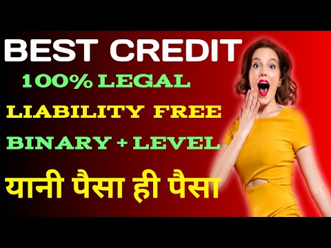 Best Credit | 100% Legal | Liability Free | Binary + Level |