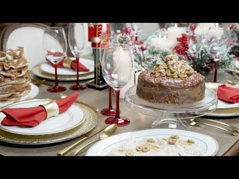 Cómo arreglar la mesa de navidad 🎄❤️