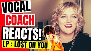 🌟 LP Reaction- Lost on You [SUBS]. LP Vocal Coach Reaction & Analysis, Laura Pergolizzi