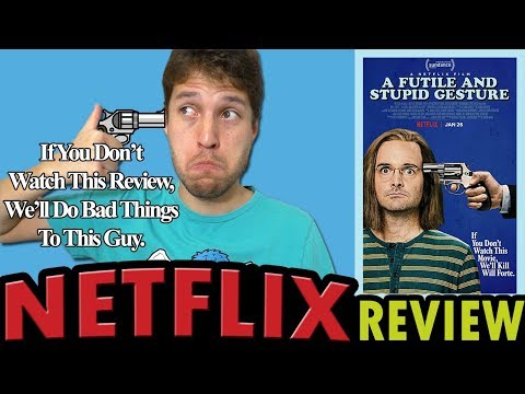 A Futile and Stupid Gesture  Netflix Movie   The Netflix Knowhow
