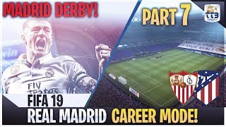 [TTB] FIFA 19 Career Mode PART 7 - The Madrid Derby - First vs Second, Winner Takes All!