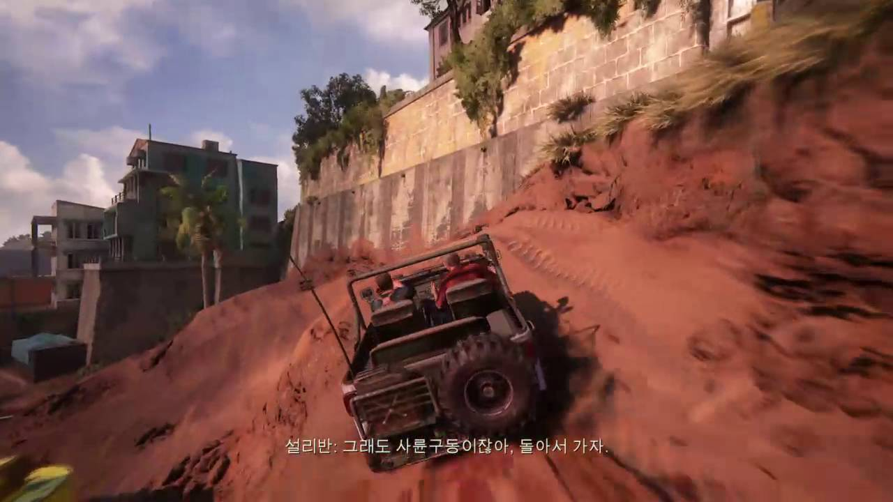 Uncharted4 Car Chase Chapter 11 Youtube