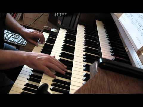 BACH JS (?) Choral ACH GOTT UND HERR BWV 692 Hauptwerk Orgue HINSZ Kampen