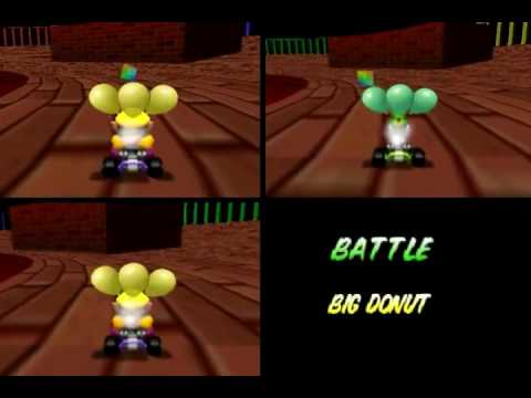 Mini Batalla Mario kart 64 project 64k online [DarkKid,Nezk,Alejandro]