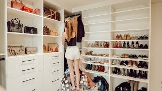 ORGANIZING & FILLING THE NEW CLOSET!