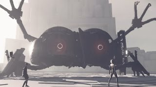 Nier Automata: Ko-shi and Ro-shi Boss Fight (1080p 60fps)