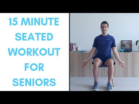 Completely Seated Workout For Seniors15 Minutes | Seated Exercises For Seniors