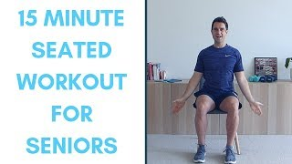 Completely Seated Workout For Seniors- 15 Minutes | Seated Exercises For Seniors