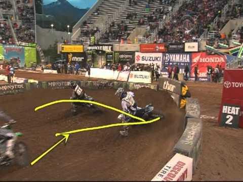 Supercross Salt Lake City UT 2012