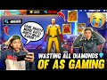 Wasting All Diamonds Of As Gaming By His Brother Free Fire Prank Gone Wrong Garena Free Fire  Mp3 - Mp4 Download
