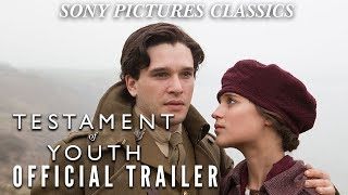 TESTAMENT OF YOUTH (2015) Official US HD Trailer