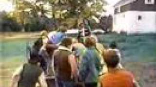 Classic Sesame Street film making apple cider