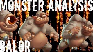 Monster Legends | Monster Analysis | Balor | Celtic Team Race