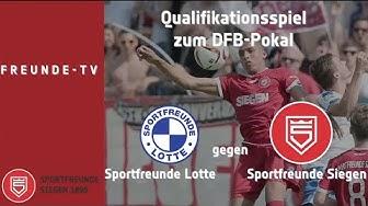 Sportfreunde Lotte gegen Sportfreunde Siegen - Qualifikation DFB-Pokal