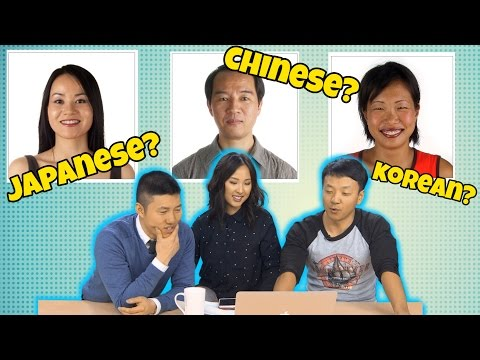 Thumbnail: How To Tell Chinese, Koreans and Japanese Apart