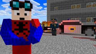 Minecraft   I AM SPOODERMAN!! TheDiamondMinecart // DanTDM (Minecraft Animation, Ssundee, Pat, GTA)