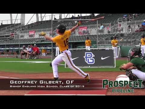 Geoffrey Gilbert Prospect Video, OF, Bishop England High School Class of 2019