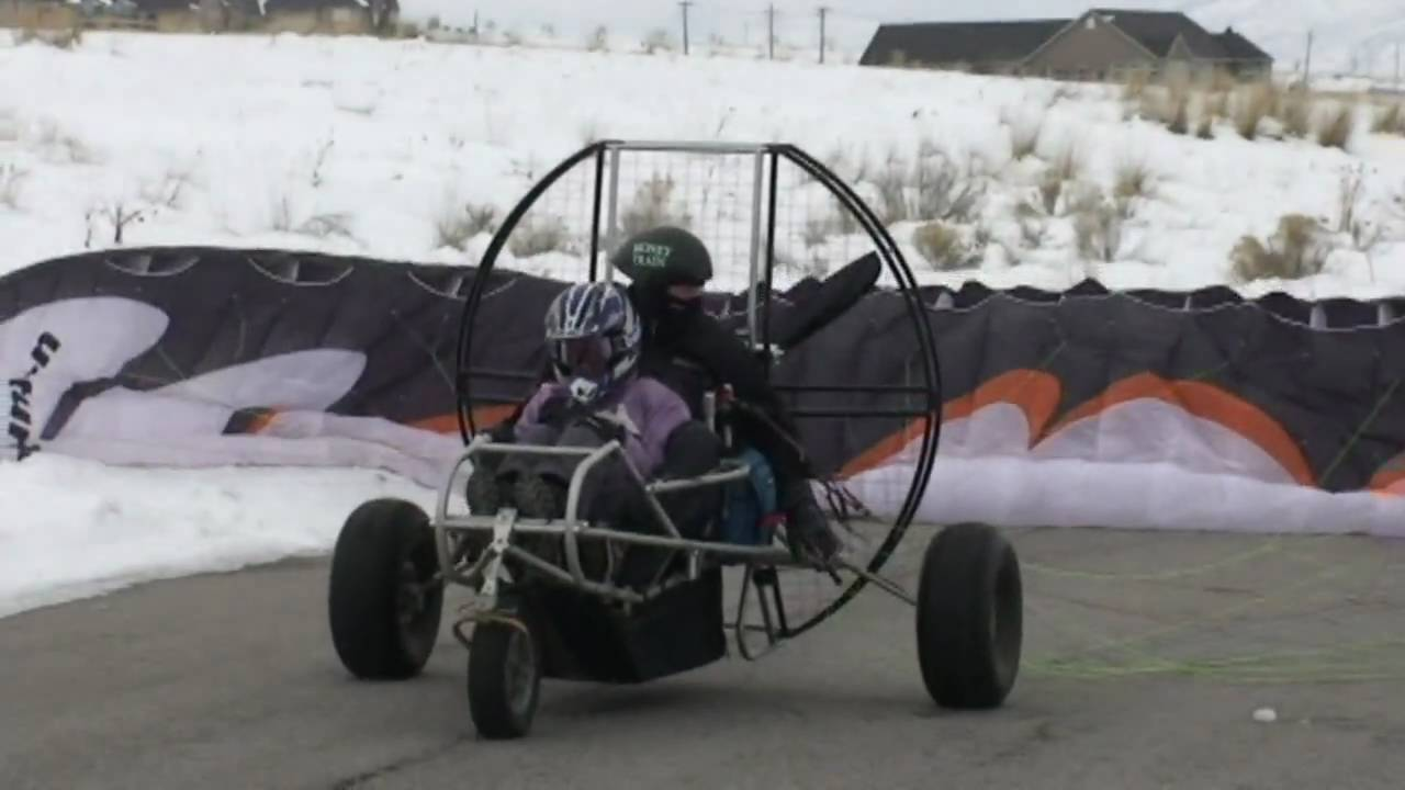 Paramotor Trike Tandem!! Powered Paragliding S-Trike Is The Ultimate!!