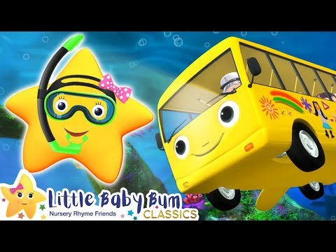 wheels-on-the-bus-underwater-|-best-baby-songs-|-kids-cartoon-|-nursery-rhymes-|-little-baby-bum