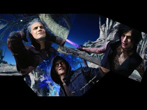 Devil May Cry 5 - Dante, Nero and V Bloody Palace ending scenes ► 1080p 60fps No commentary thumbnail