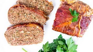Tasty Meatloaf Recipe with Cheese | Made with 1lb Ground Beef