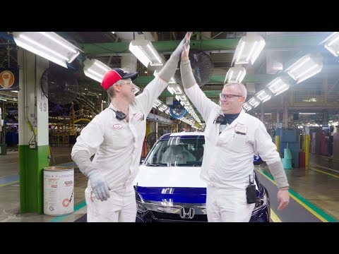 Honda Celebrated the 25th Millionth Honda Automobile Built in the US