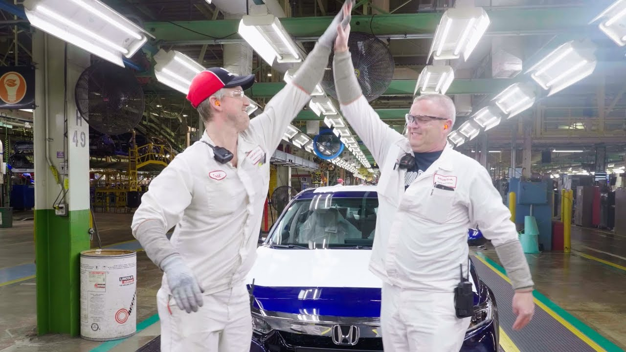 Image result for Honda builds its 25 millionth automobile in the U.S.