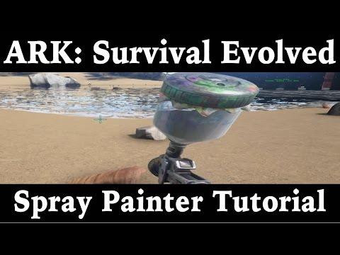Spray Painter Tutorial - Ark: Survival Evolved - Xbox One