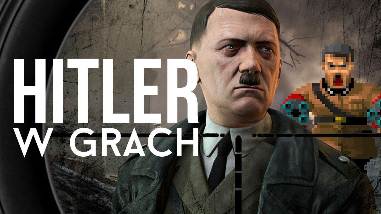 Jak gry ukazywały Hitlera?
