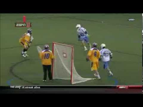Hopkins' Stanwick scores off of 2 man game from X