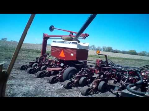 Loading seed with A Box tender