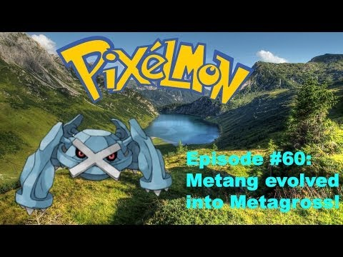 Minecraft Pixelmon 3.0 Let's Play #60 - Metang Evolved Into Metagross!
